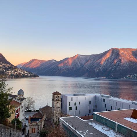 Lake Lugano Mid-Winter 2019