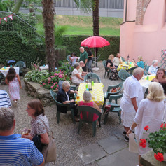 Summer BBQ in the Courtyard