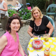 Mary & Jenny: Summer Courtyard Party