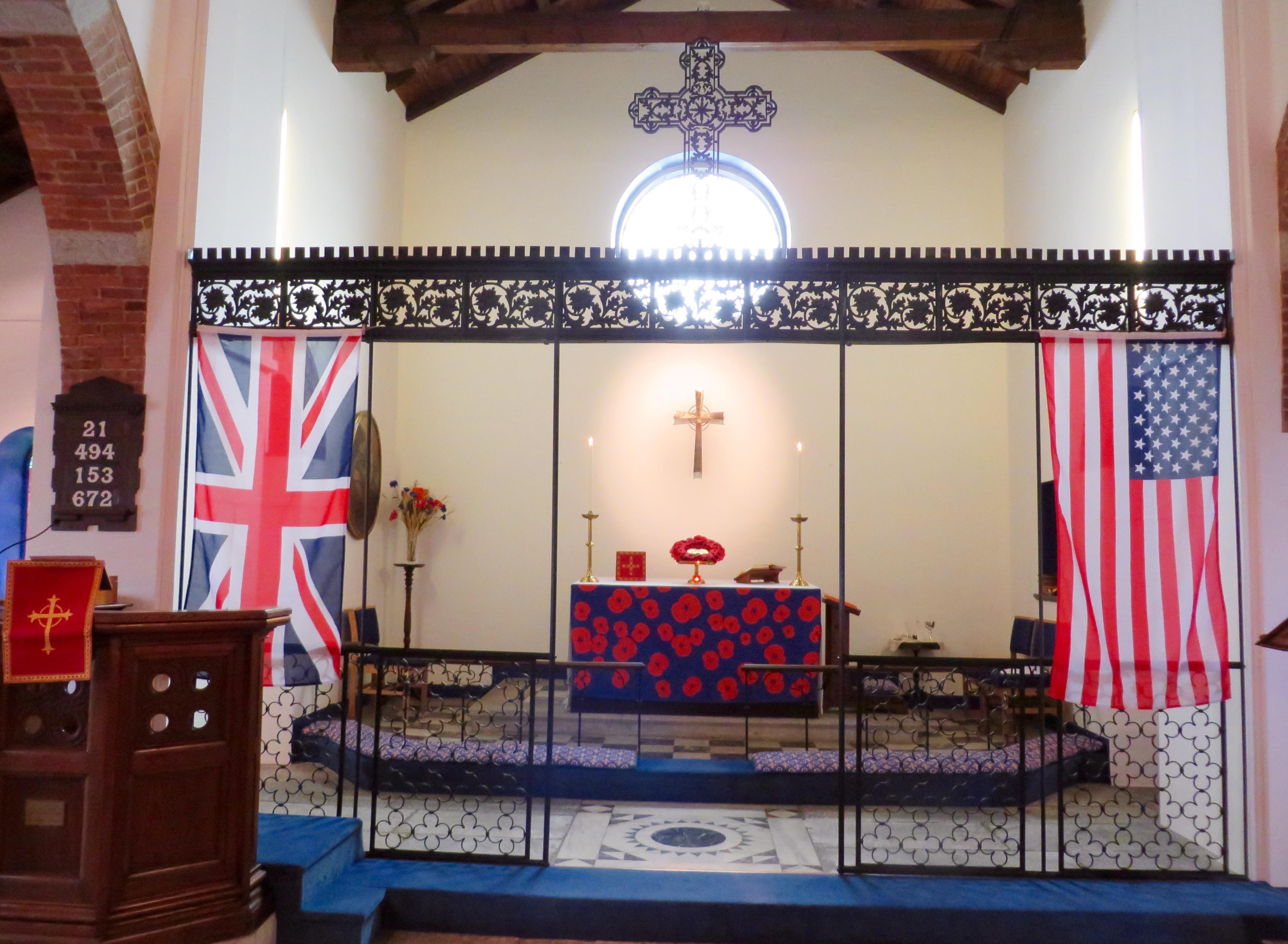 Remembrance Sunday Altar