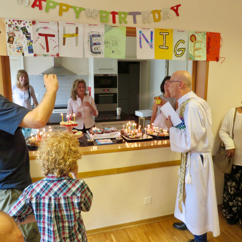 Fr Nigel's 65th!