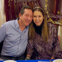 Marco & Renata at a Curry Supper Fundraiser