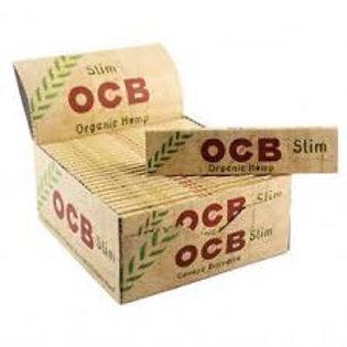 OCB Slim + Tips - Hemp Paper