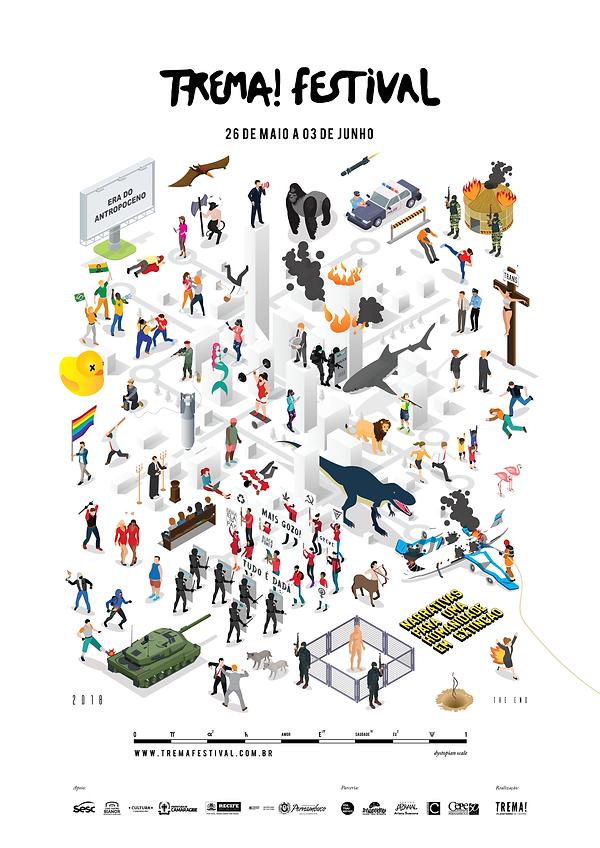 Cartaz do Trema! Festival 18