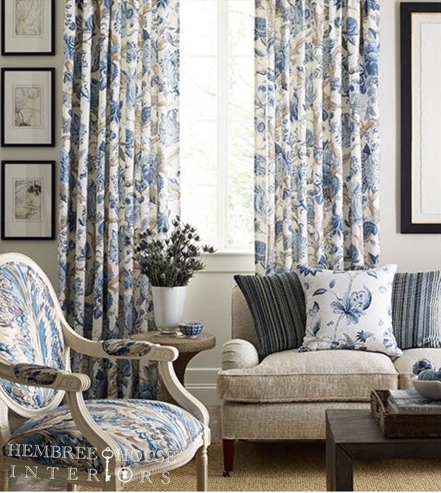 beautiful blue fabrics lee jofa fabrics used in living room