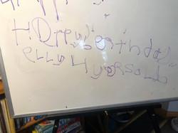 Matthew wrote to Ellie