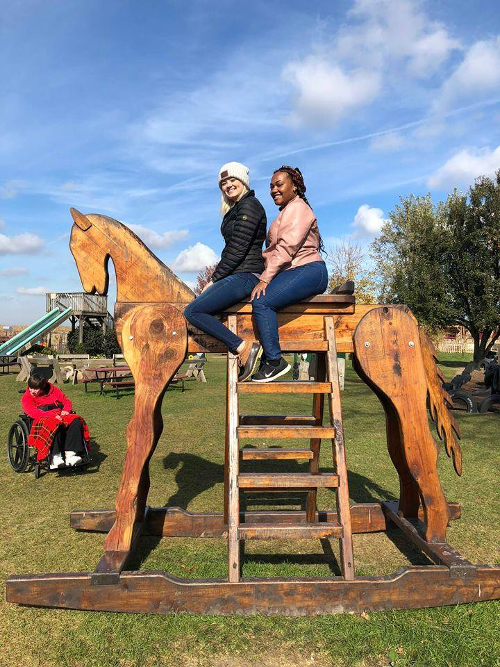 Nicole and Charlotta