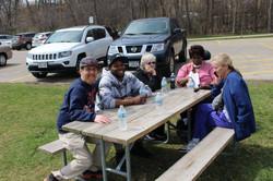 picnic at Vilas zoo