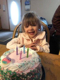 Ellie's fourth bday at AAC