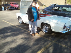 Paul loves car shows