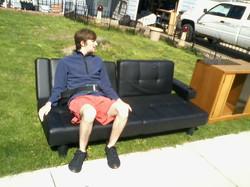 Ben came across a garage sale