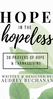 Hope in the Hopeless