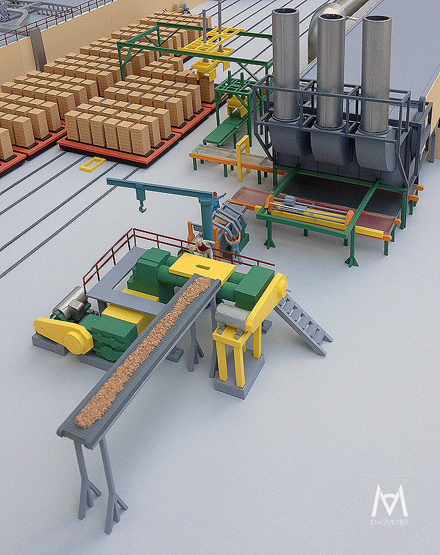 Fábrica de Tijolo