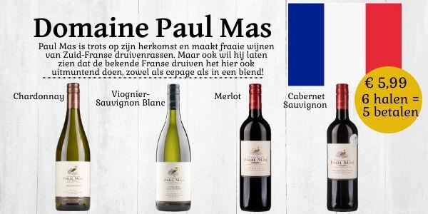 Paul Mas 4 stijlen