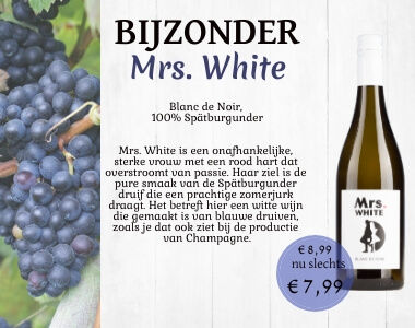 Mrs White Blanc de Noir