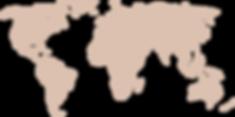 World map presence Blacaz