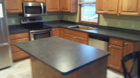 New countertops in Eden Prairie