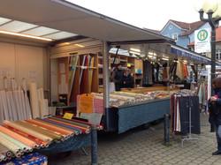 auf dem Markt in Forchheim