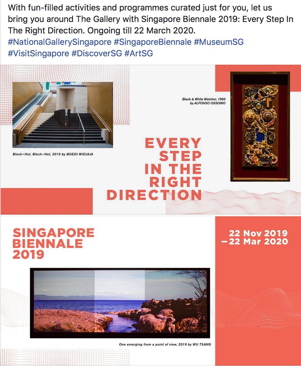 Singapore Biennale 2019 FB