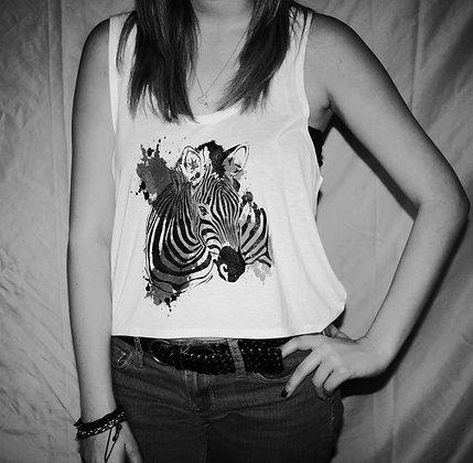 Girls Zebra Croptop