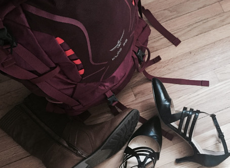 Hiking Boots & High Heels:  Fierce and Soft Through Craniosacral Therapy