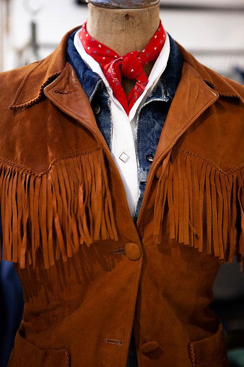 1950s Levi's Big E Western Fringe Jacket