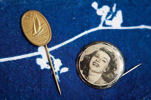 Vintage 1960's Pins