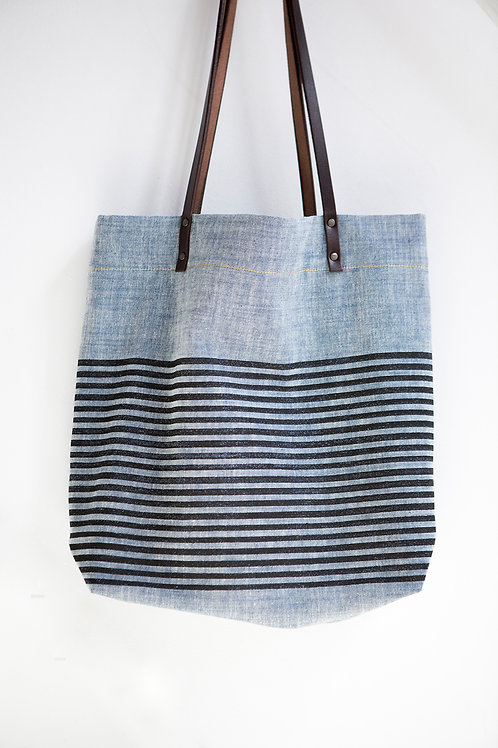 Woodblock Printed Shoulder Bag