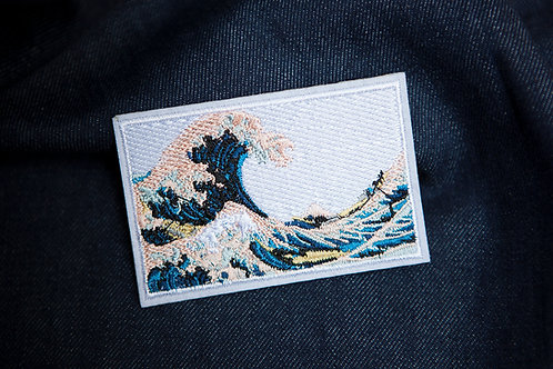 Great Wave Off Kanagawa Patch