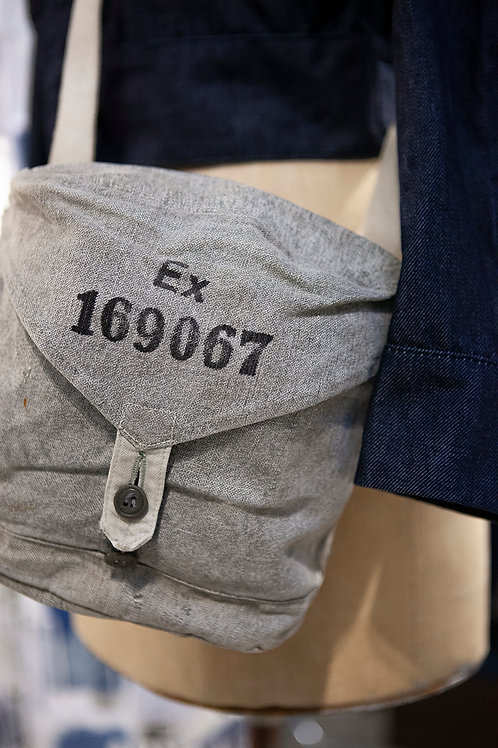 1940's Salt 'n Pepper Military Bag