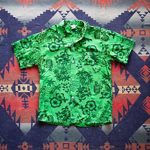60s Tiki Aloha Shirt