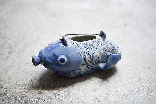 Vintage Ceramic Koi Teapot