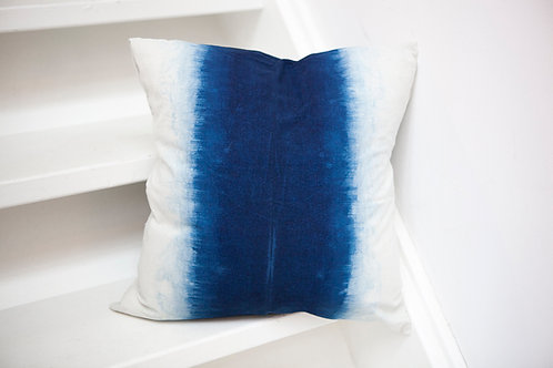 Natural Indigo Gradient Pillow Case