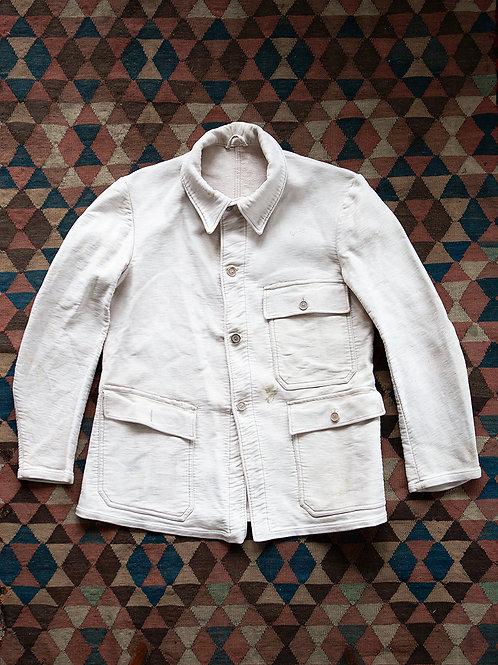 Rare White Moleskin Miners Suit