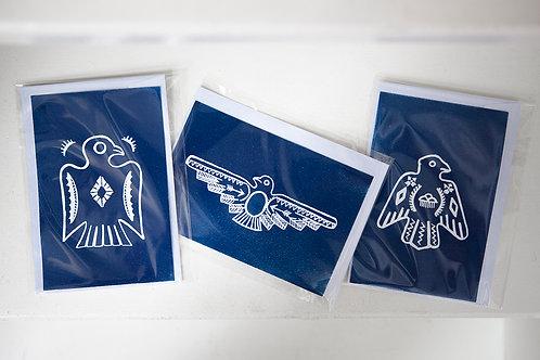 Indigo Thunderbirds Postcard Set