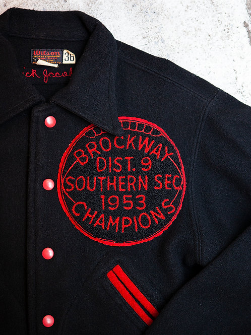 1940's - 50's Wilson Varsity Jacket