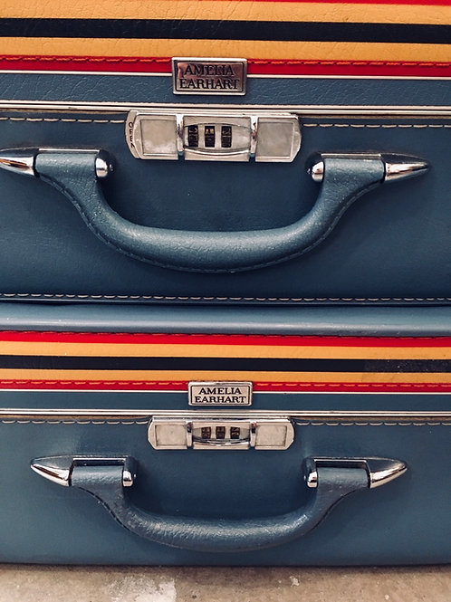 Amelia Earhart Luggage Set