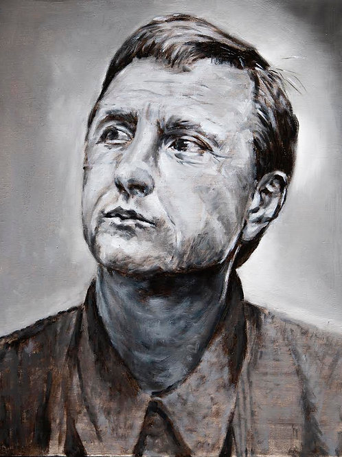 Cruijff Limited Edition Fine Art Print