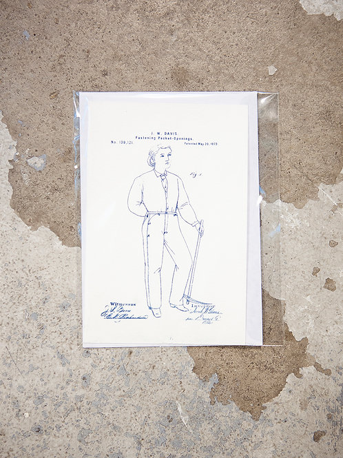 Levi Strauss Blueprint Patent