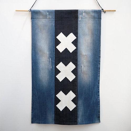 Amsterdam Denim Flag