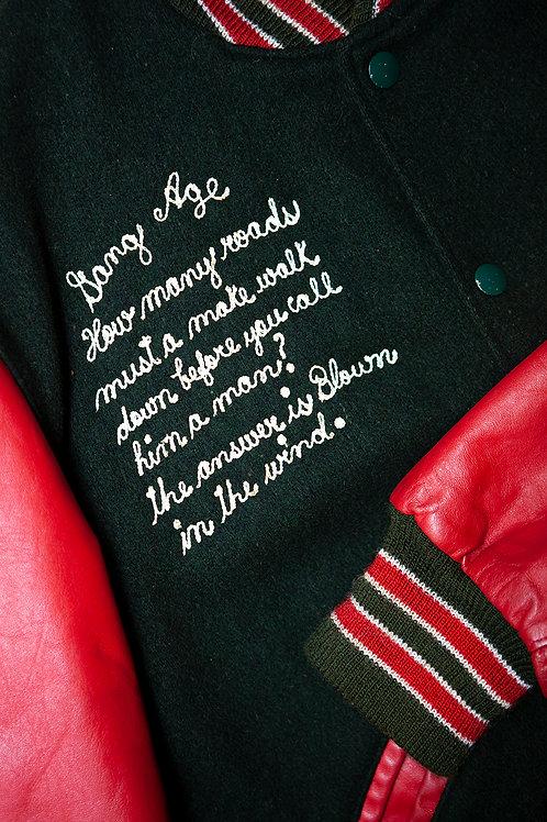 Bob Dylan Varsity Jacket