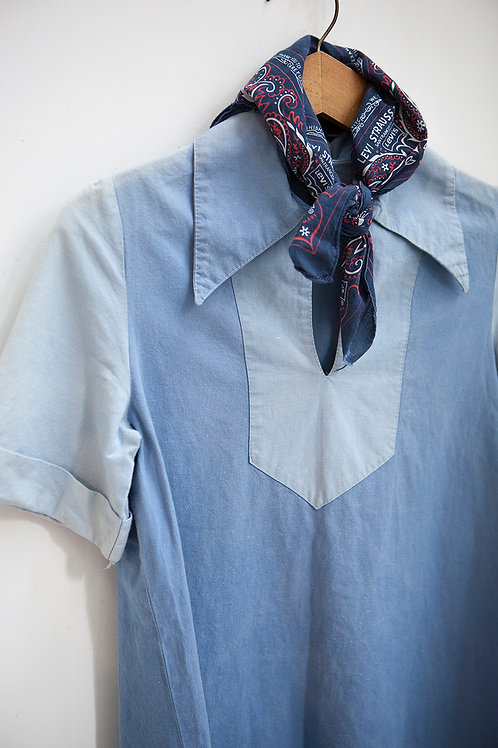 1930's Faded French Work Shirt