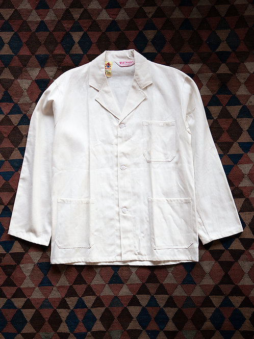 Deadstock White Worker Jacket