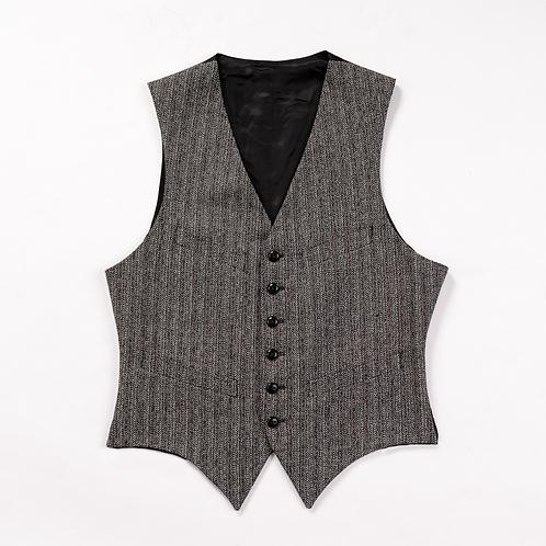 SJC - Open Weave Arkwright Waistcoat