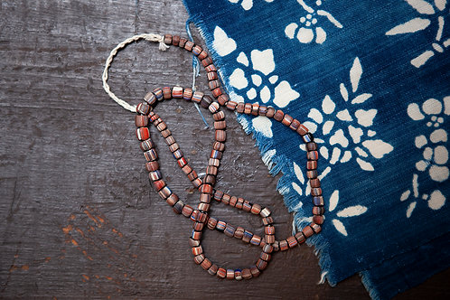 Nepalese Glass Trade Bead Necklace