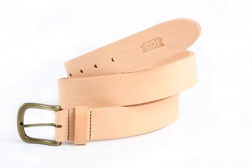 K.O.I. Veg Tan Leather Belt