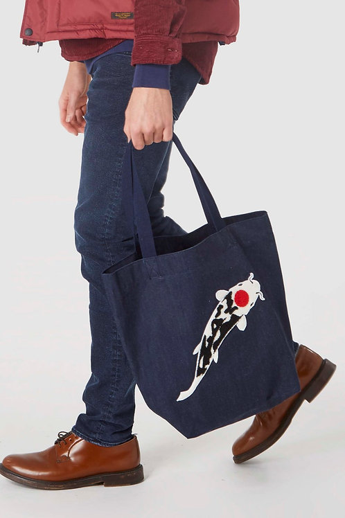 KOI Dry Denim Totebag
