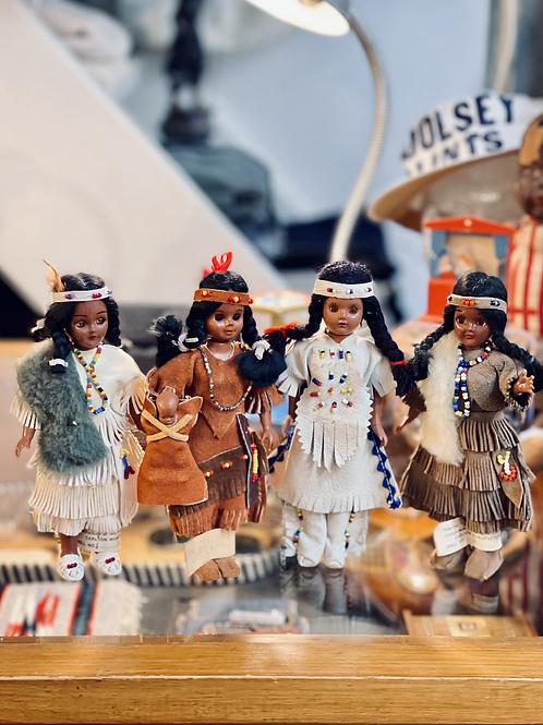 1960s Native American Doll