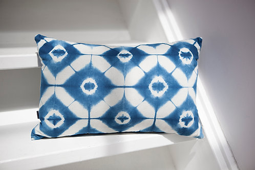 Indigo Shibori Pillow Case
