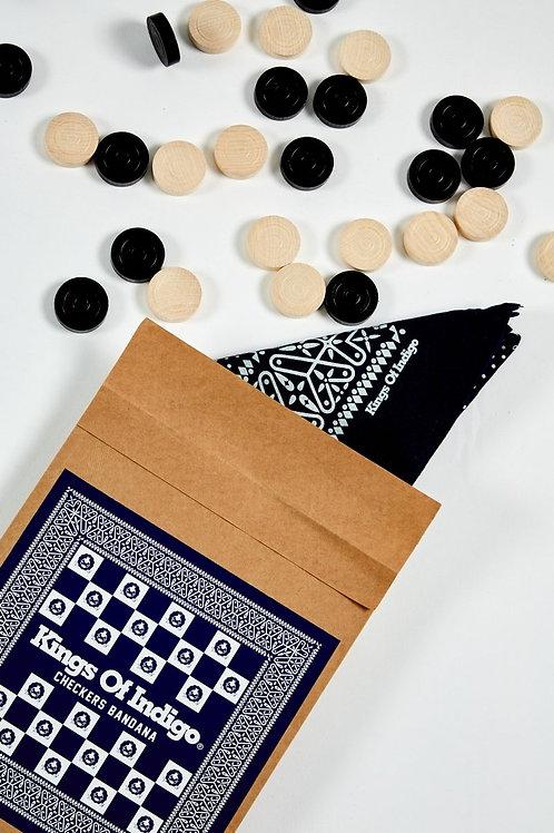 K.O.I. Checkers Bandana